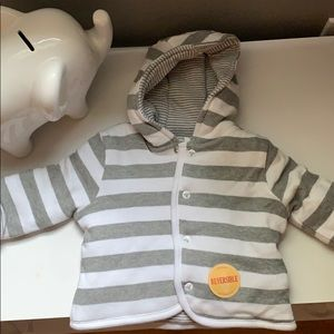 Burt's Bees Reversible Unisex Quilted Jacket NWT